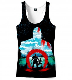 Aloha From Deer, GODLY TANK TOP Thumbnail $i