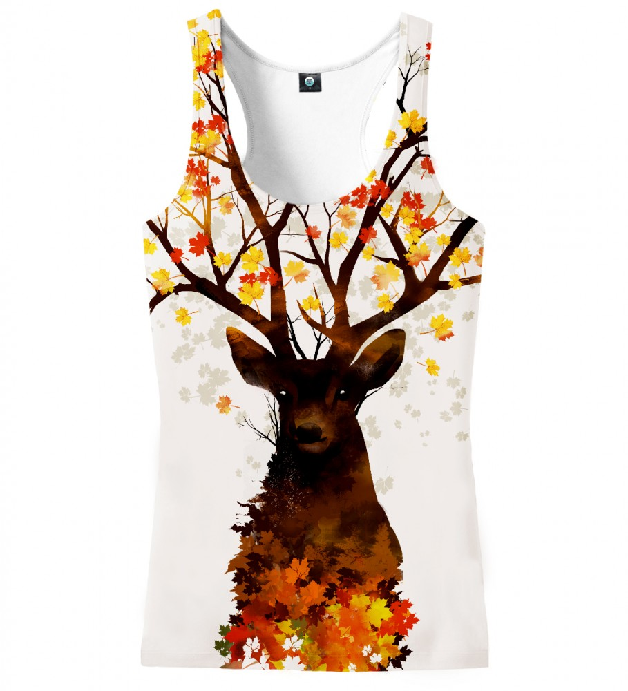 Aloha From Deer, INTO THE WOODS TANK TOP Image $i
