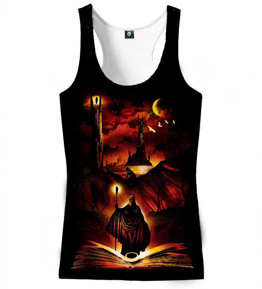 Aloha From Deer, ONE RING TO RULE THEM ALL TANK TOP Image $i