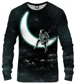 Aloha From Deer, SING TO THE MOON SWEATSHIRT Thumbnail $i