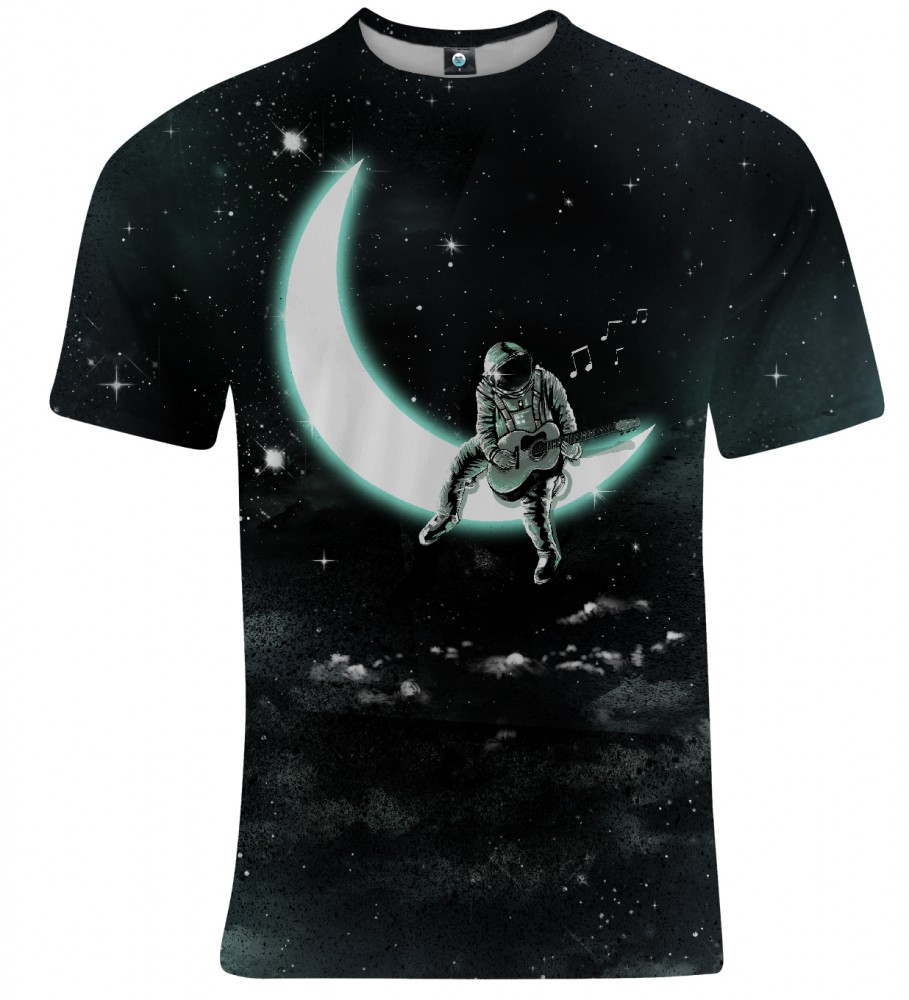 Aloha From Deer, SING TO THE MOON T-SHIRT Image $i