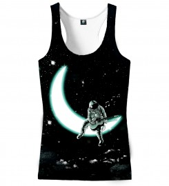 Aloha From Deer, SING TO THE MOON TANK TOP Thumbnail $i