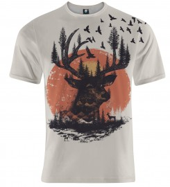 Aloha From Deer, SUNSET VALLEY T-SHIRT Thumbnail $i
