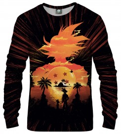 Aloha From Deer, SUPER SAIYAN SWEATSHIRT Thumbnail $i
