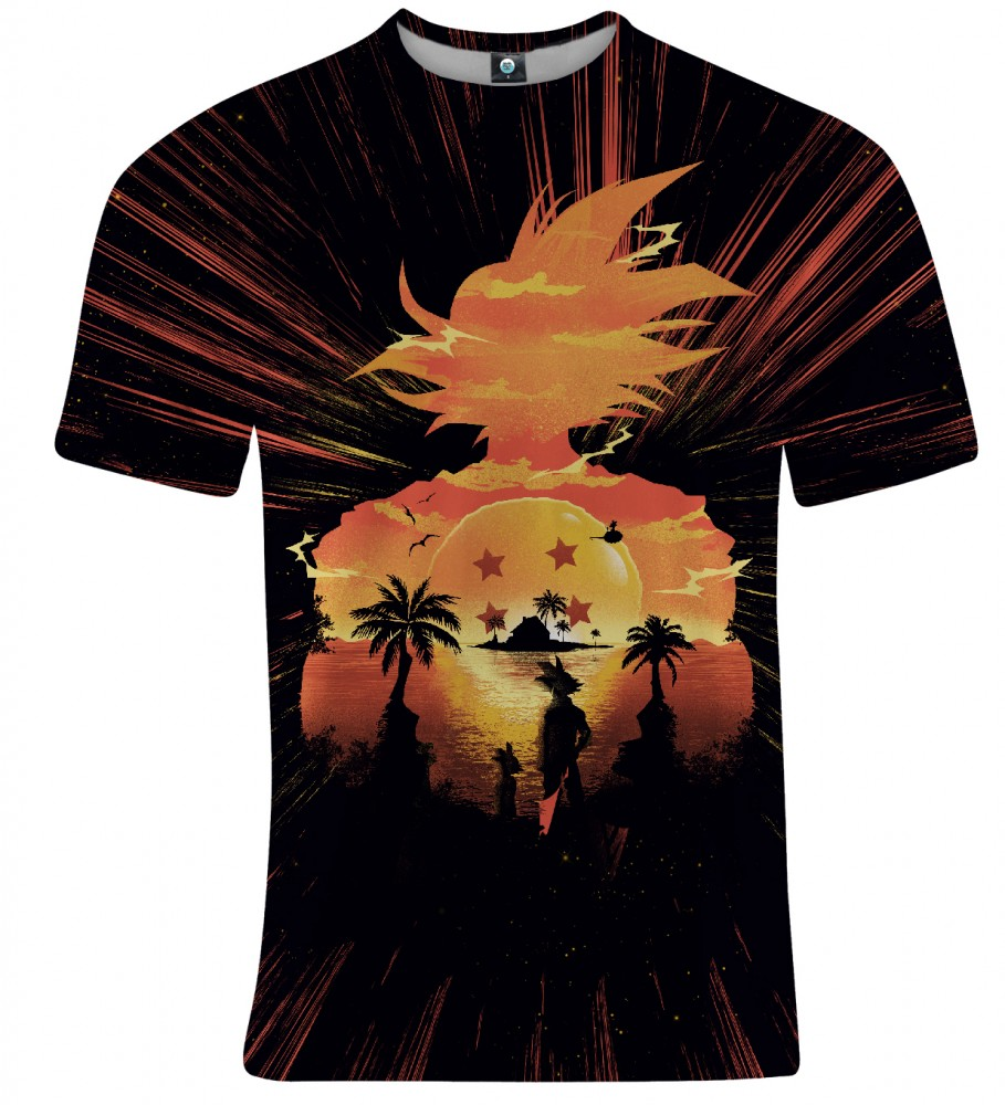 Aloha From Deer, SUPER SAIYAN T-SHIRT Image $i