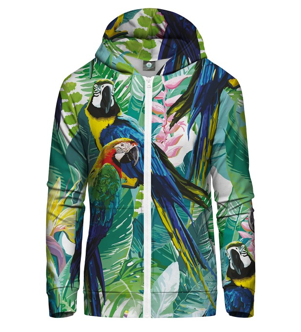 JUNGLE ZIP UP HOODIE Thumbnail 1