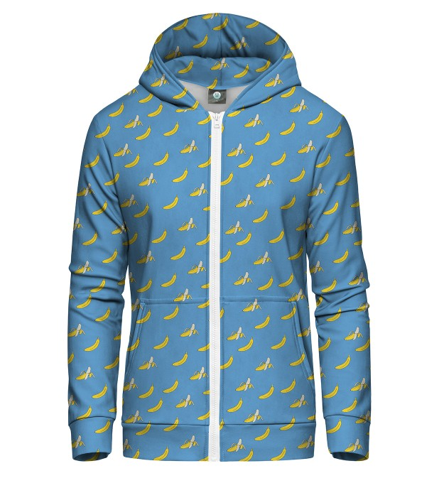 BANANA HEAVEN ZIP UP HOODIE Thumbnail 1