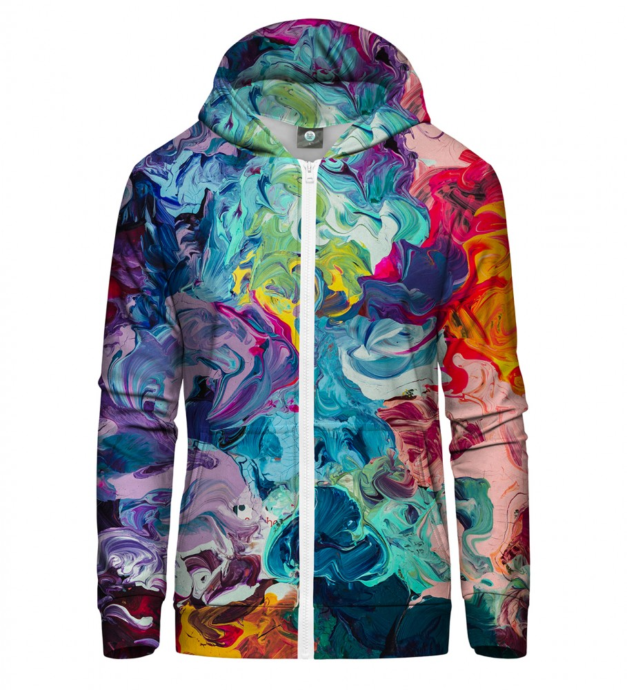Aloha From Deer, PAINTJOB ZIP UP HOODIE Image $i