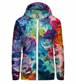 Aloha From Deer, PAINTJOB ZIP UP HOODIE Thumbnail $i