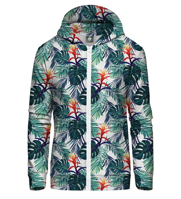 TROPIC ZIP UP HOODIE Thumbnail 2