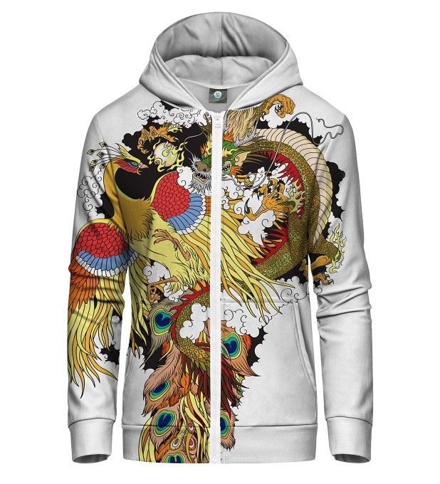 GODFIGHT ZIP UP HOODIE Thumbnail 1