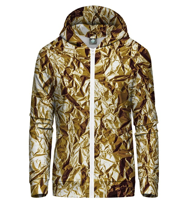 GOLDEN ZIP UP HOODIE Thumbnail 2