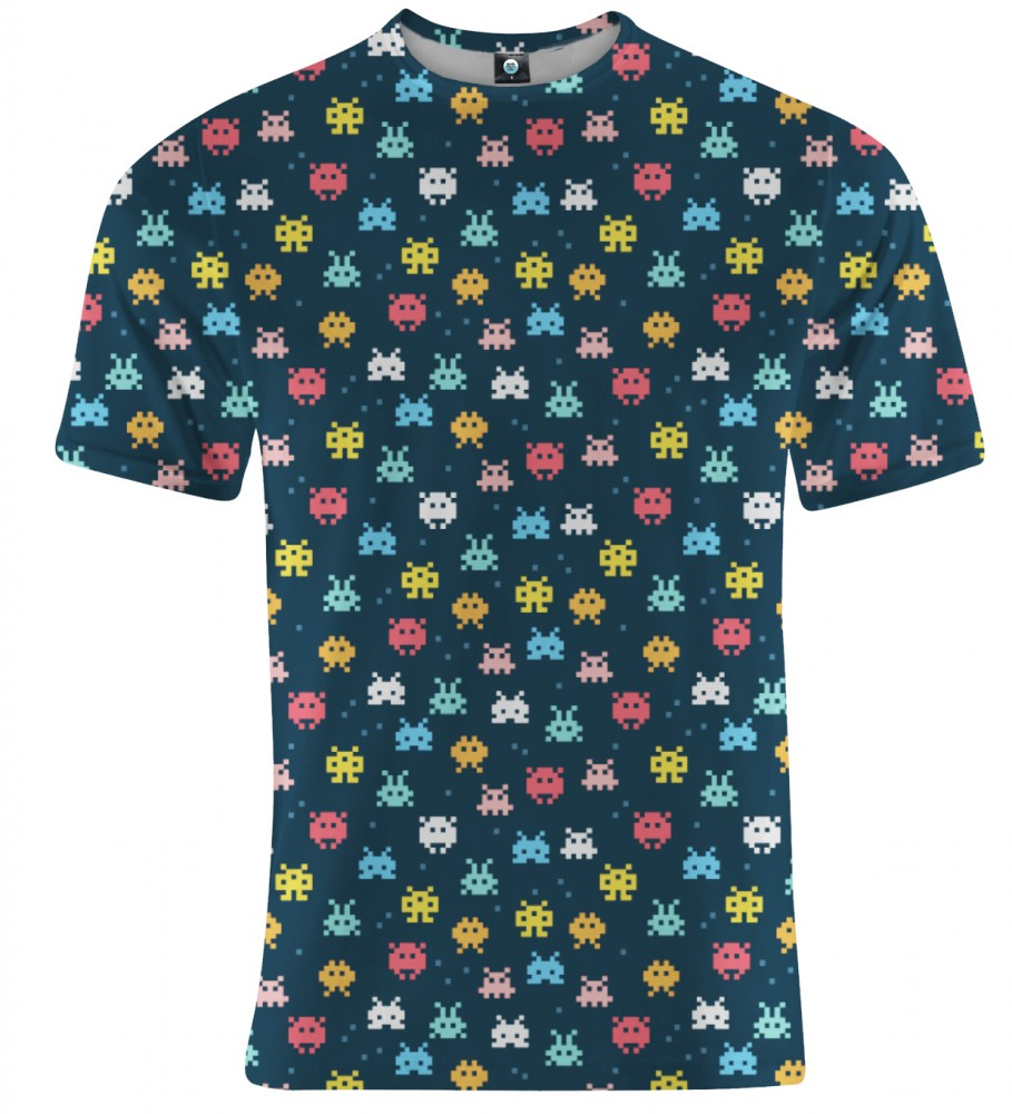 Aloha From Deer, SPACE INVADERS T-SHIRT Image $i