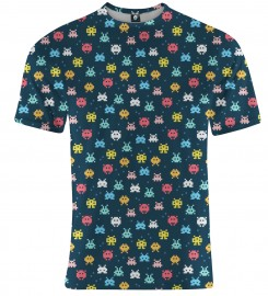Aloha From Deer, SPACE INVADERS T-SHIRT Thumbnail $i