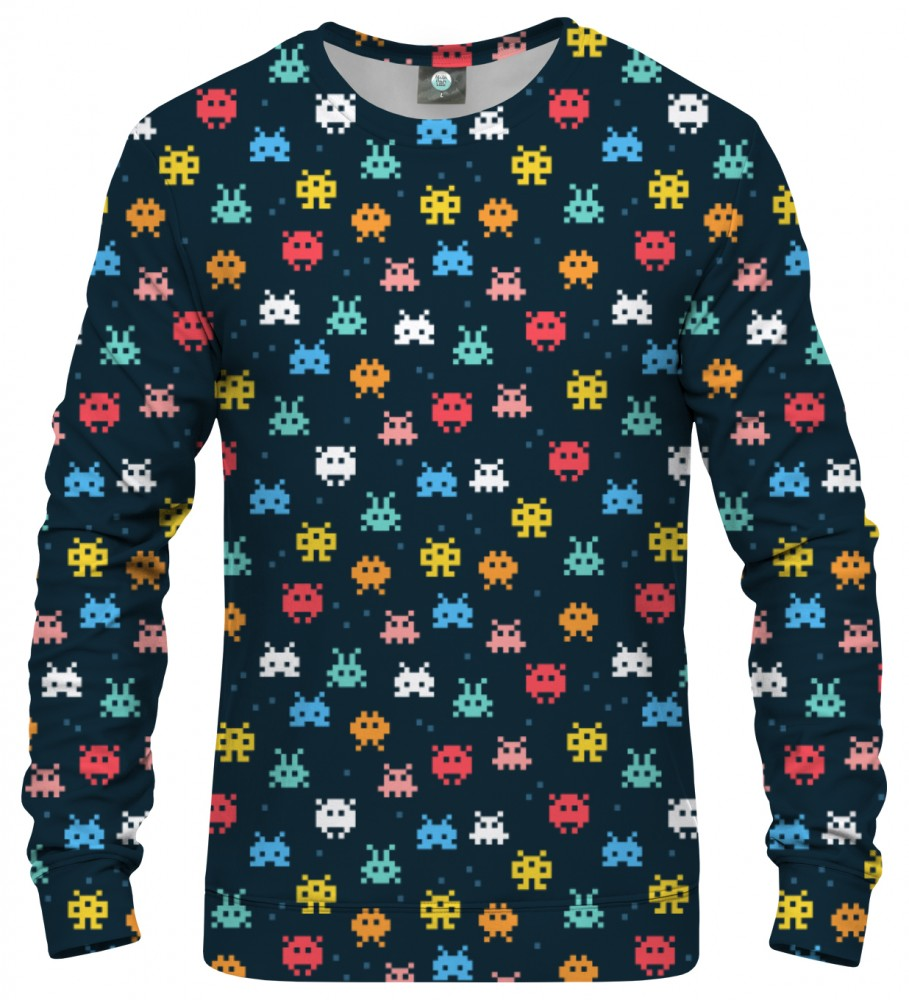 Aloha From Deer, SPACE INVADERS SWEATSHIRT Image $i
