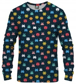 Aloha From Deer, SPACE INVADERS SWEATSHIRT Thumbnail $i