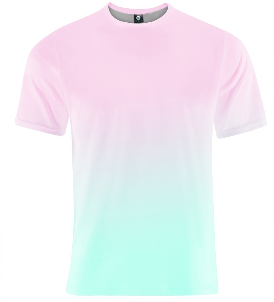 Aloha From Deer, PINKBLUE OMBRE T-SHIRT Image $i