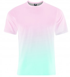 Aloha From Deer, PINKBLUE OMBRE T-SHIRT Thumbnail $i