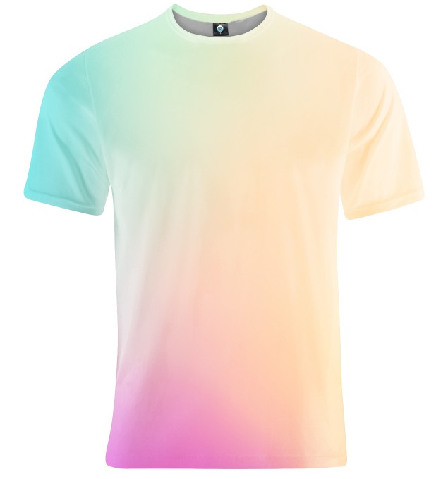 T-SHIRT DEEP COLORFUL OMBRE  Miniatury 1