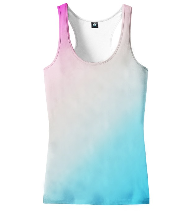 PINKBLUE ASKEW OMBRE TANK TOP Thumbnail 1