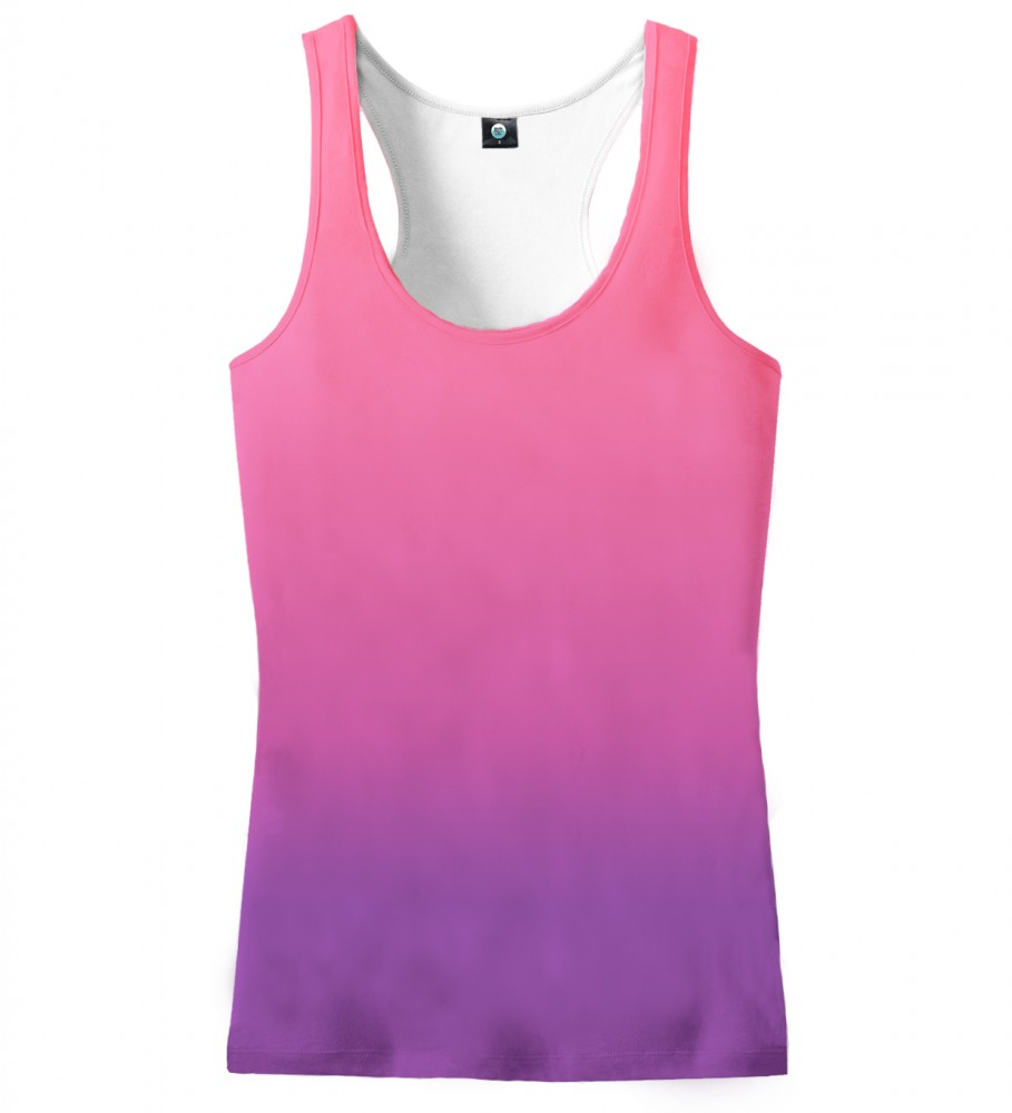 Aloha From Deer, MIDNIGHT OMBRE TANK TOP Image $i
