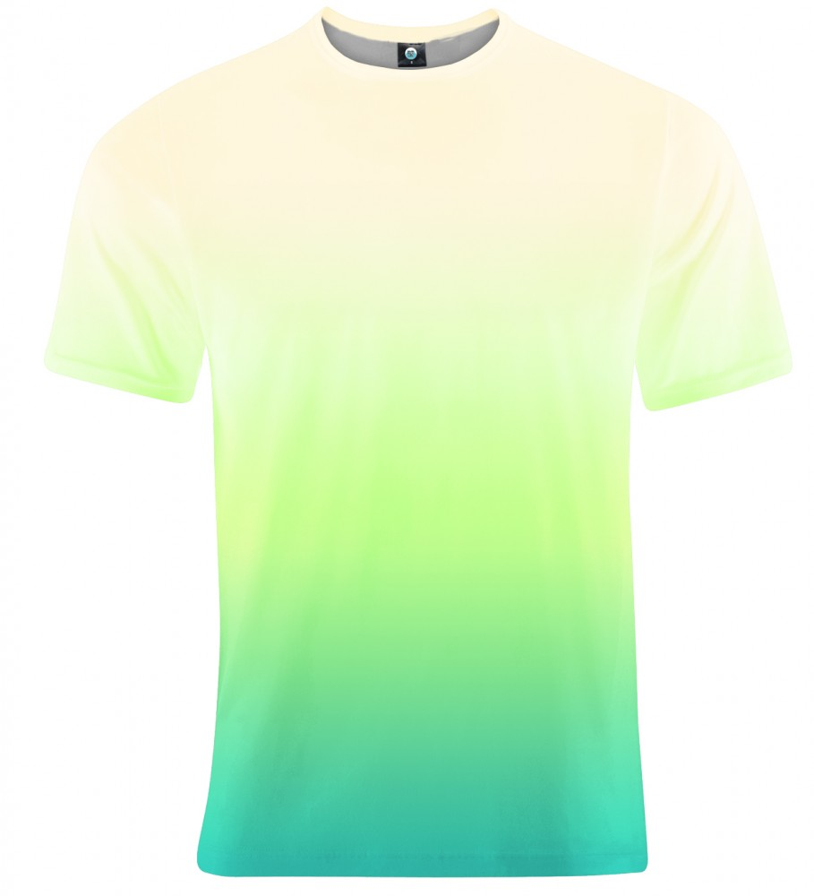 Aloha From Deer, MORNING GRASS OMBRE T-SHIRT Image $i