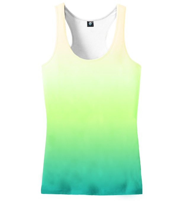 MORNING GRASS OMBRE TANK TOP Miniatury 2