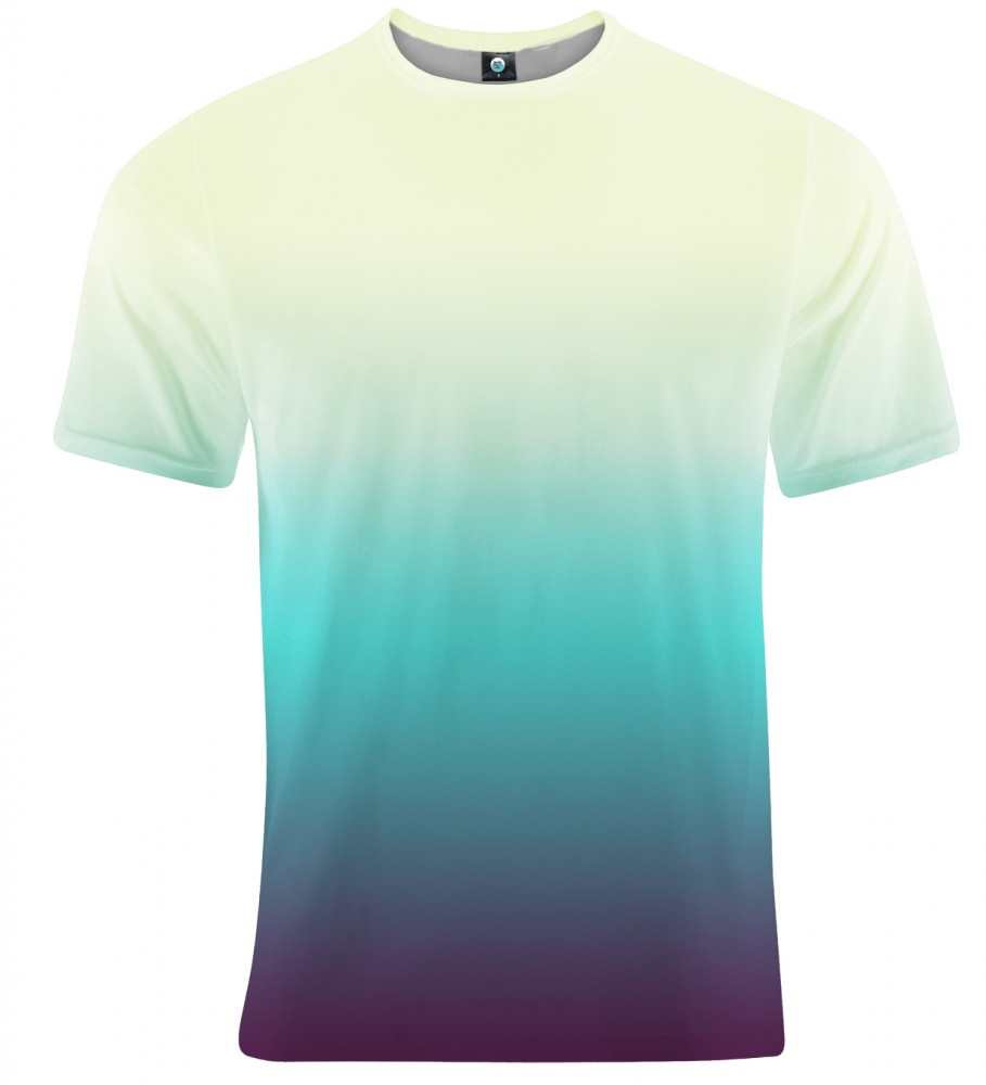 Aloha From Deer, SOAKING WET OMBRE T-SHIRT Image $i