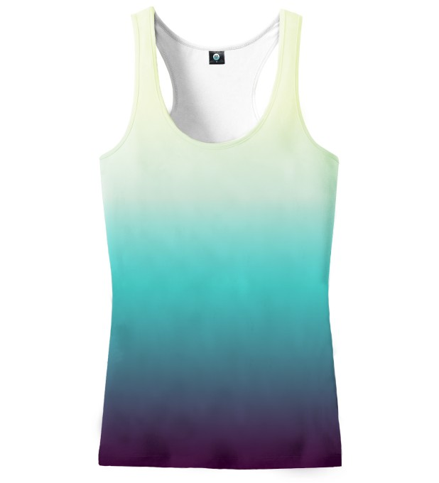 SOAKING WET OMBRE TANK TOP Miniatury 2