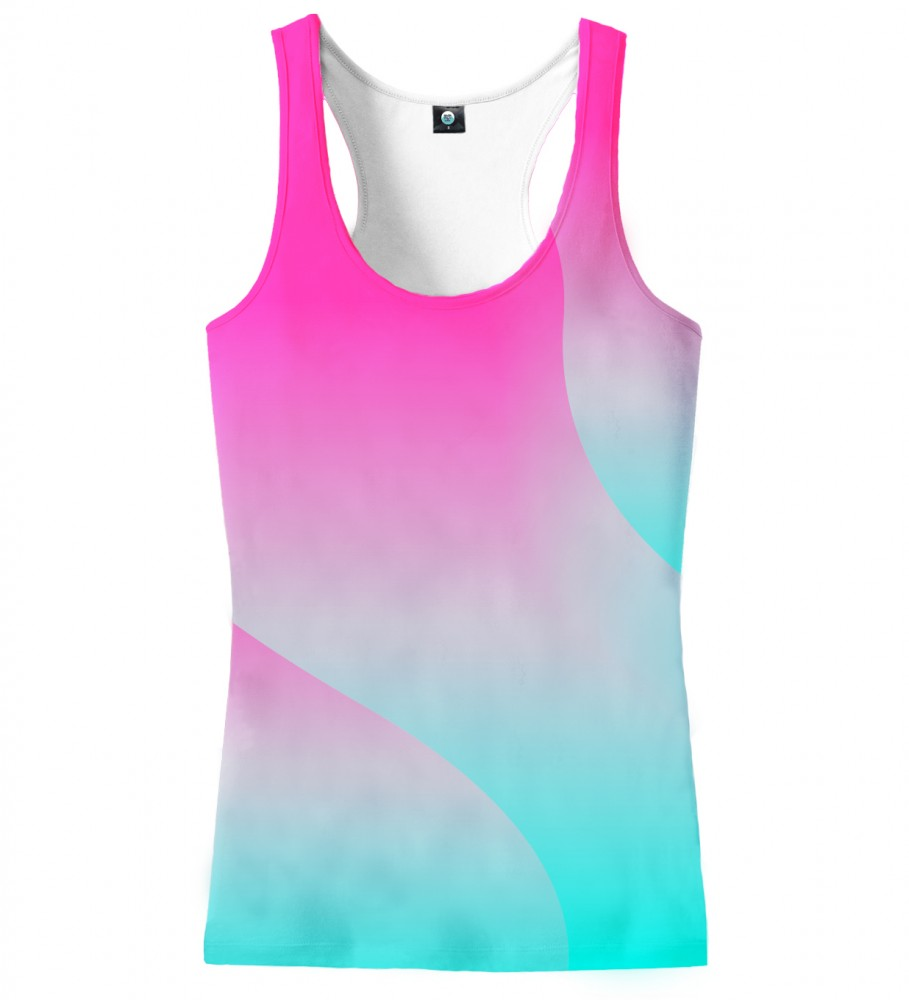 Aloha From Deer, DREAMY OMBRE TANK TOP Image $i
