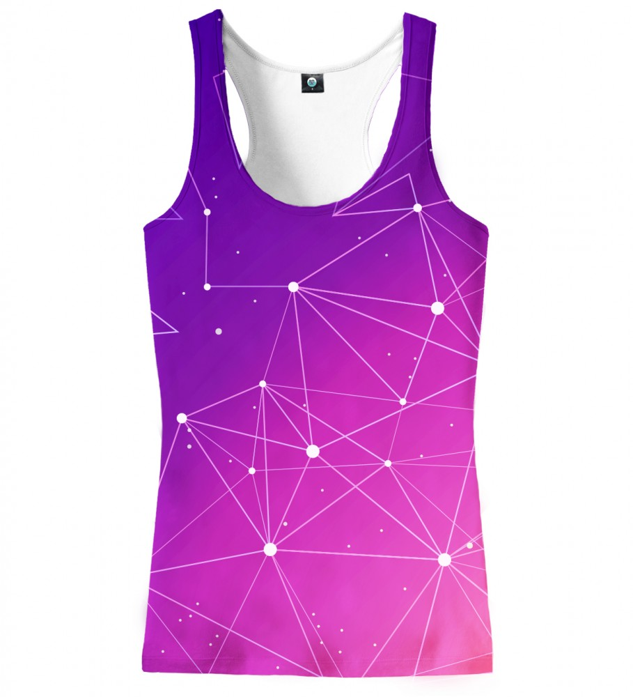 Aloha From Deer, CONSTELATIONS OMBRE TANK TOP Image $i