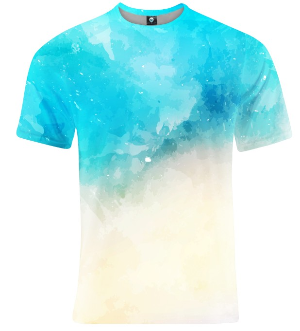 T-SHIRT SEASIDE WATERCOLOR Miniatury 2