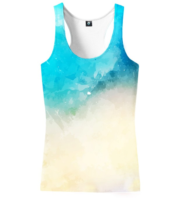 SEASIDE WATERCOLOR TANK TOP Thumbnail 2