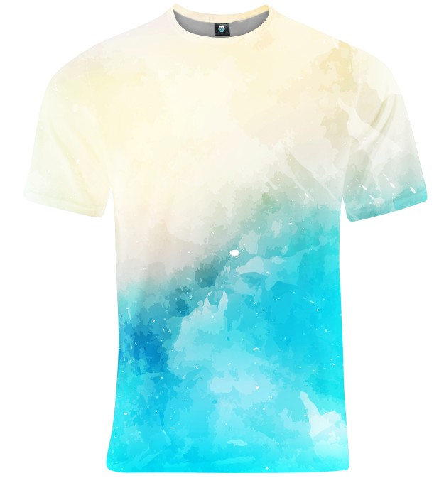 SEASIDE V2 WATERCOLOR T-SHIRT Thumbnail 2