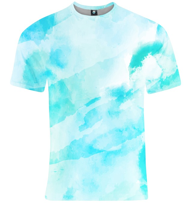 CLOUDY WATERCOLOR T-SHIRT Thumbnail 2