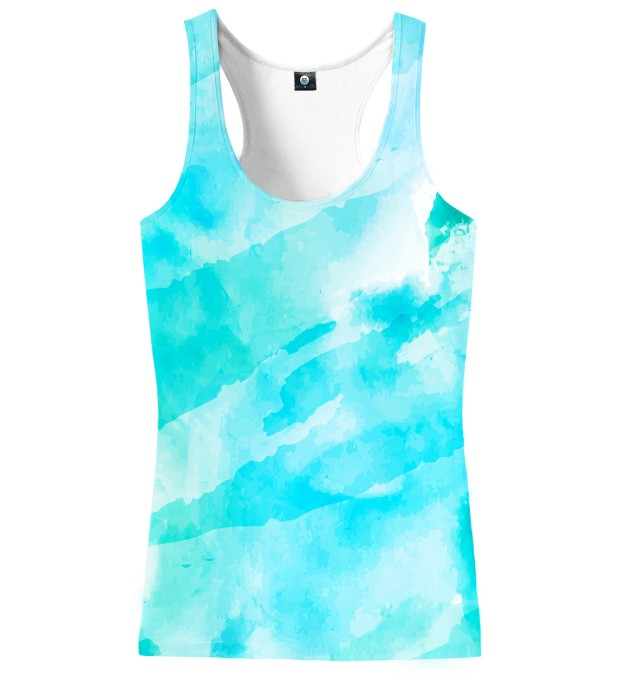 CLOUDY WATERCOLOR TANK TOP Miniatury 2