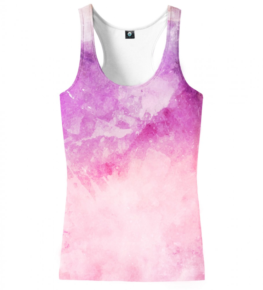 Aloha From Deer, MIDNIGHT WATERCOLOR TANK TOP Image $i