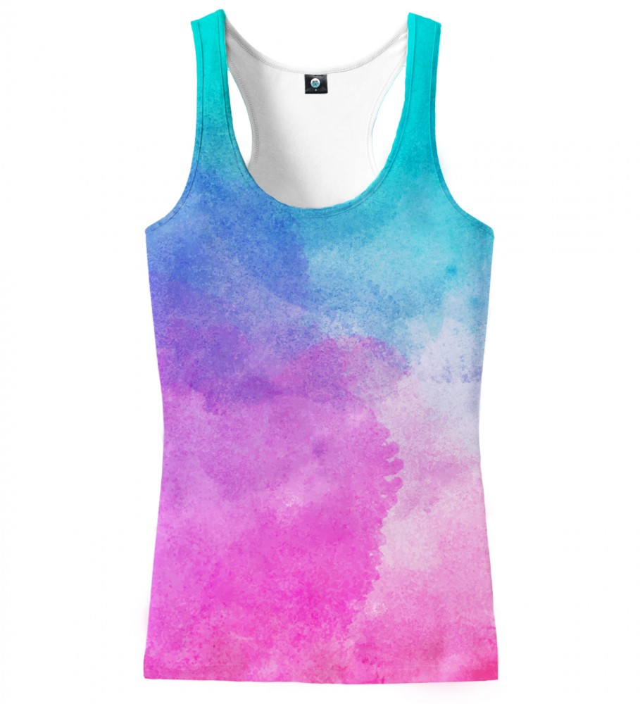 Aloha From Deer, OMBRE WATERCOLOR TANK TOP Image $i