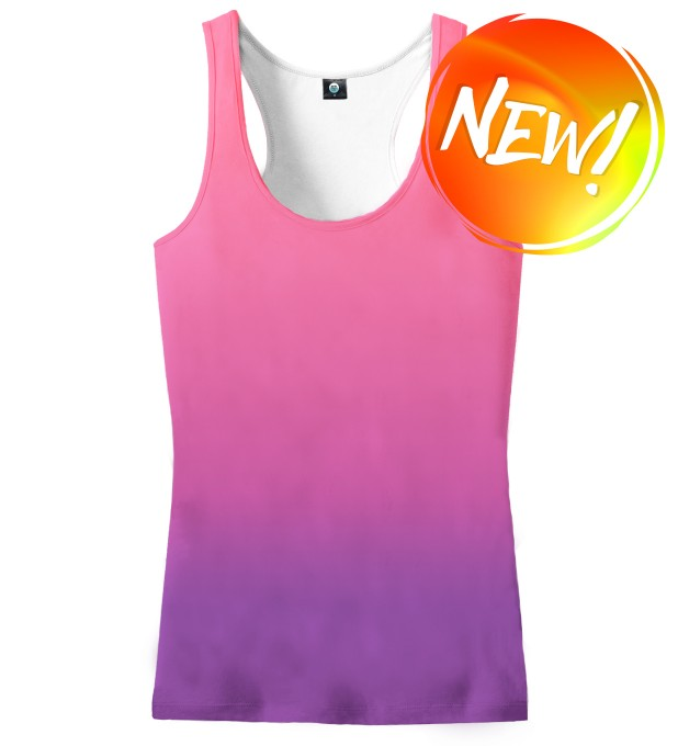 MIDNIGHT OMBRE TANK TOP Miniatury 1