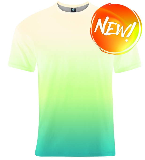 MORNING GRASS OMBRE T-SHIRT Thumbnail 1
