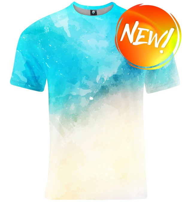 T-SHIRT SEASIDE WATERCOLOR Miniatury 1
