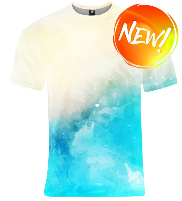SEASIDE V2 WATERCOLOR T-SHIRT Thumbnail 1