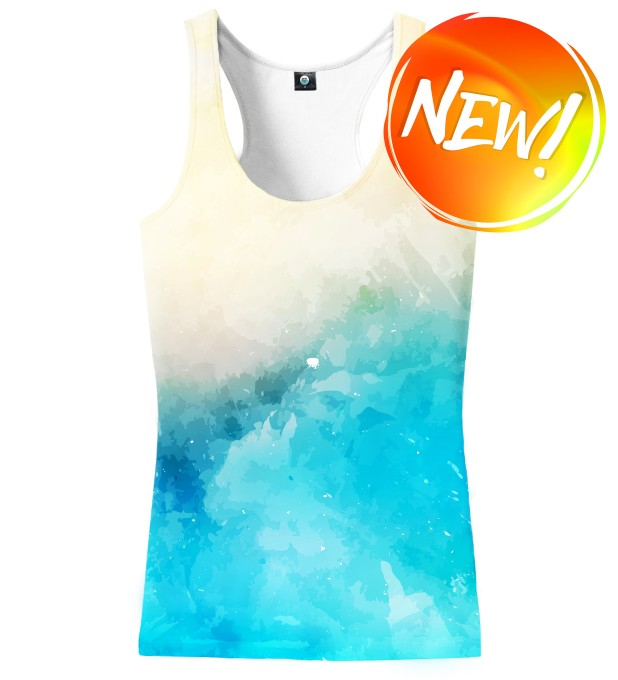 SSEASIDE V2 WATERCOLOR TANK TOP Miniatury 1