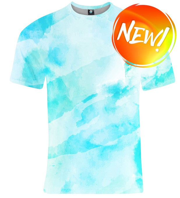 T-SHIRT CLOUDY WATERCOLOR Miniatury 1