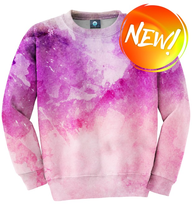 MIDNIGHT WATERCOLOR SWEATSHIRT Thumbnail 1
