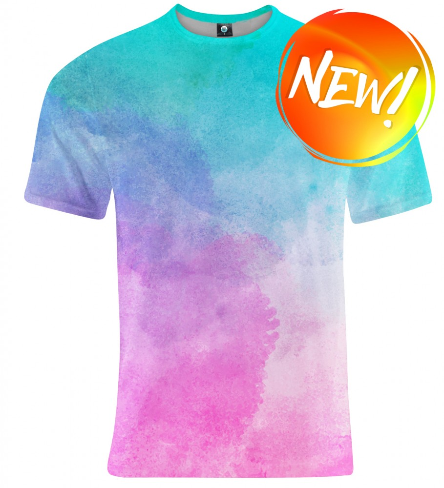 Aloha From Deer, OMBRE WATERCOLOR T-SHIRT Image $i