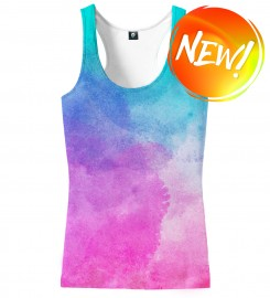 Aloha From Deer, OMBRE WATERCOLOR TANK TOP Thumbnail $i