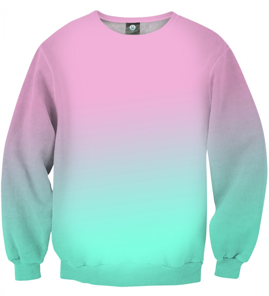 Aloha From Deer, PINKBLUE OMBRE SWEATER Image $i