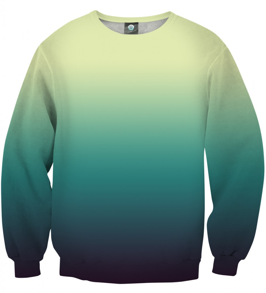 Aloha From Deer, SOAKING WET OMBRE SWEATSHIRT Image $i