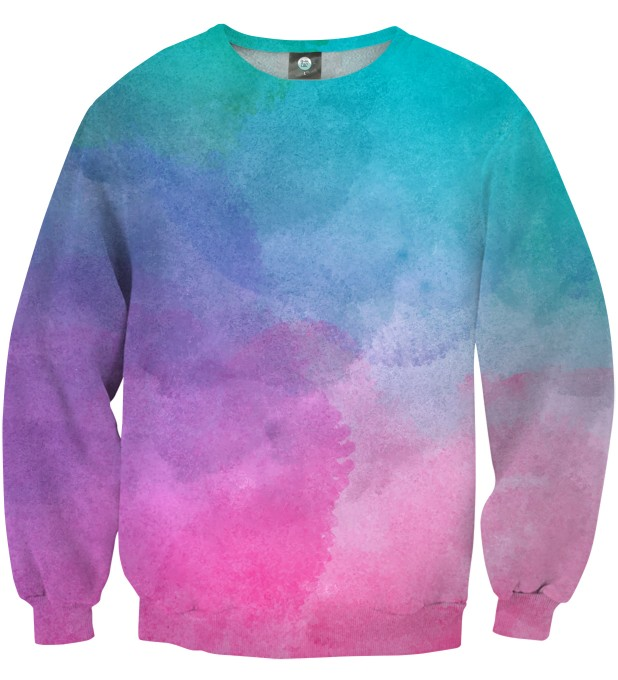 OMBRE WATERCOLOR SWEATSHIRT Thumbnail 1